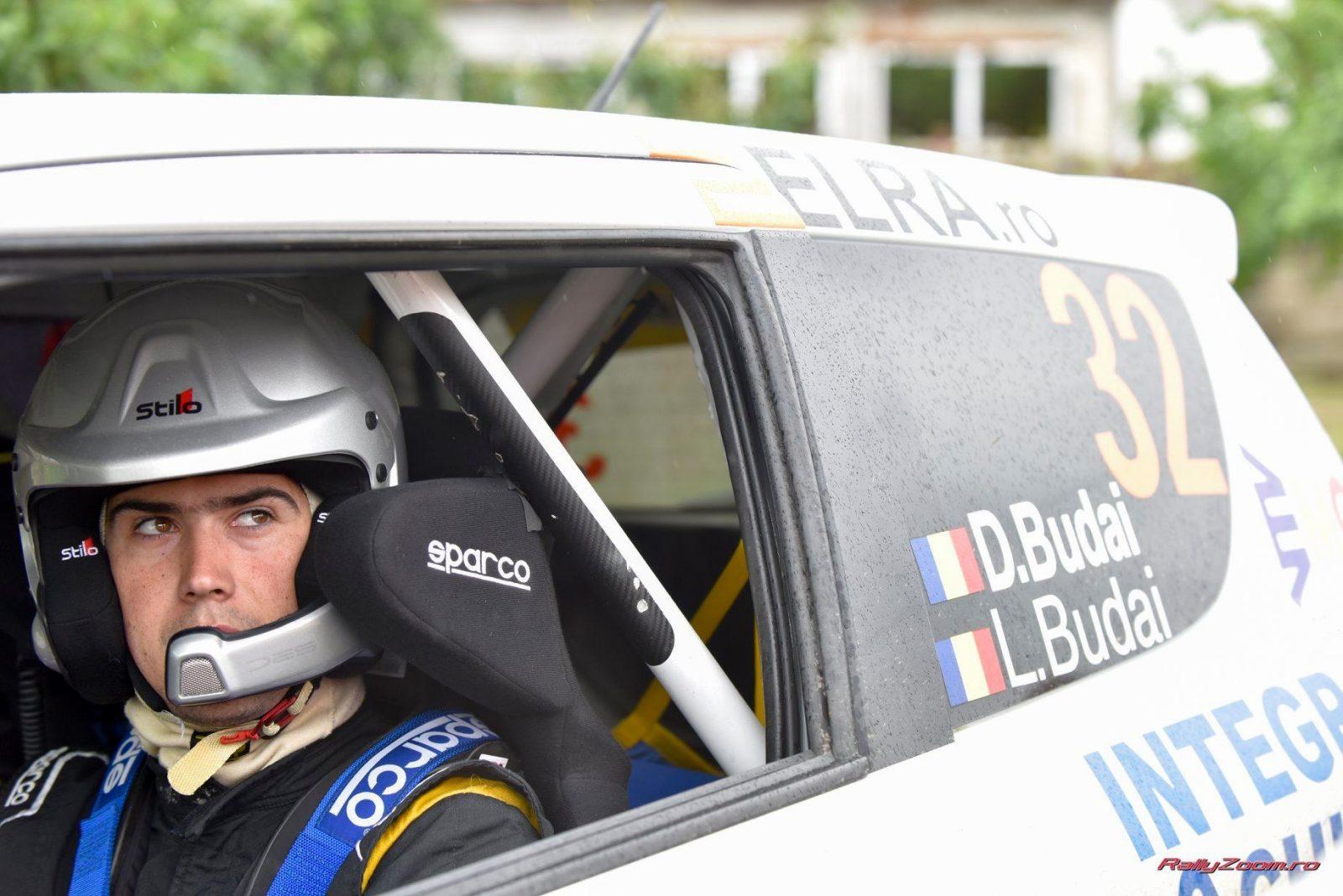 Dănuț Budai este lider la Cupa Suzuki. Sursă foto: rallyzoom