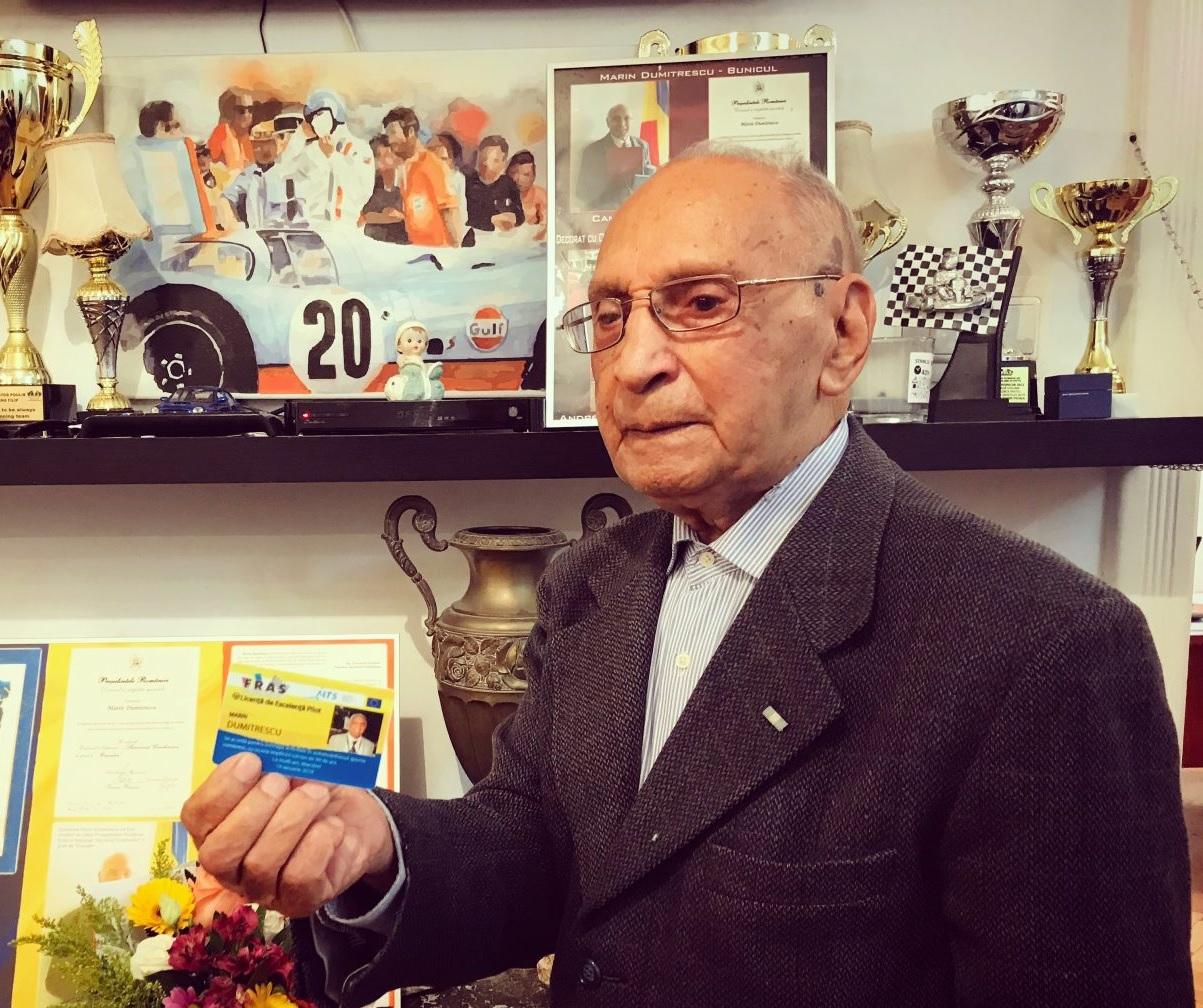 Marin Dumitrescu, la borna 102. Povestea unei legende » FRAS
